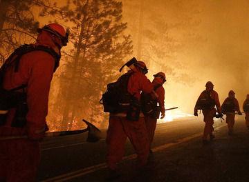 Tile firefighter line