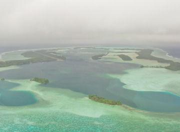 Tile palmyra atoll aerial shot. c island conservation