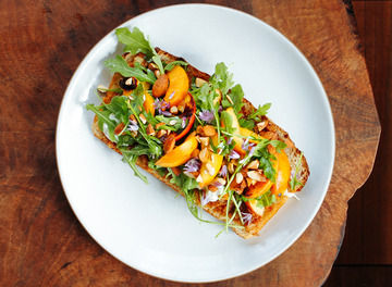 Tile huckberry the perfect open faced sandwich outerlands header