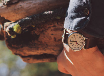 Tile huckberry survival watch instructables header