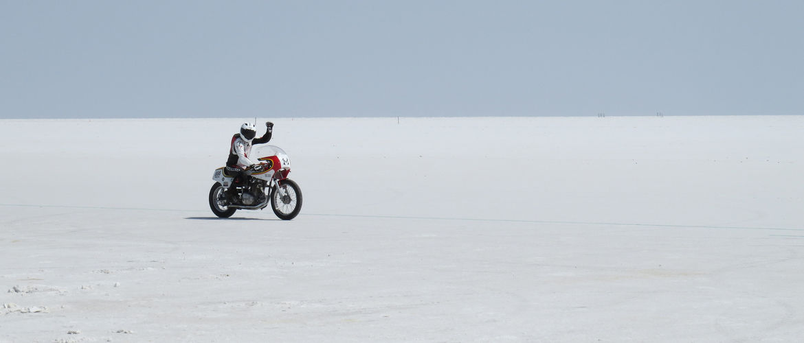 How One Man Broke a Land Speed Record on a Motorcycle Fueled by Beer