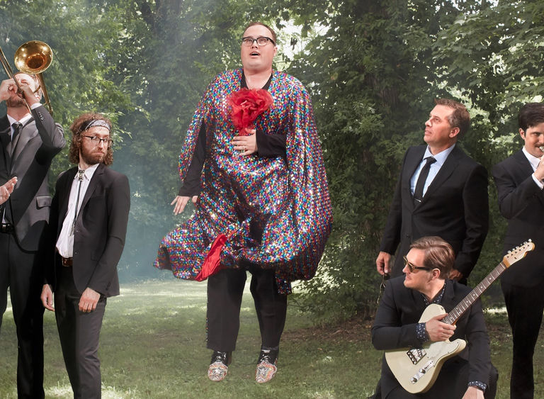 Image on the road with st. paul and the broken bones