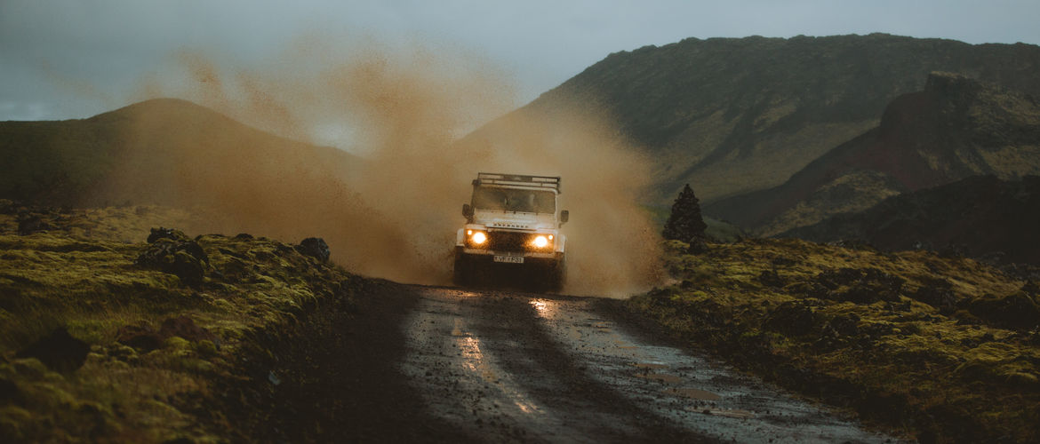 Featured rent a land rover defender through geysir banner photo