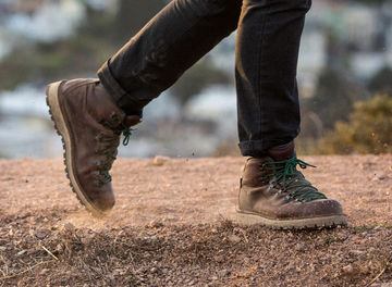 Tile exclusive boots of huckberry danner header