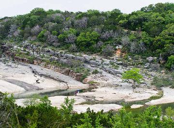 Tile pedernales falls state park