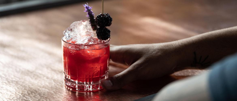 Featured berry margarita by elliott clark