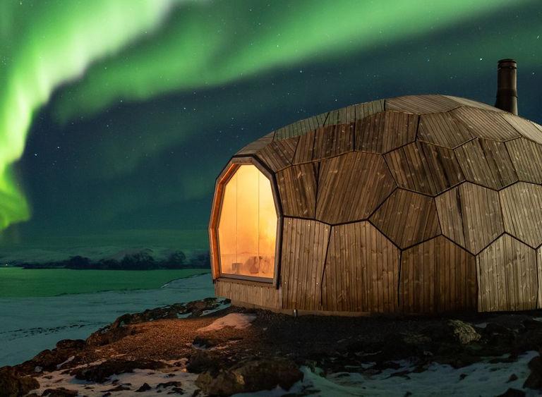 Image arctic circle cabin 13