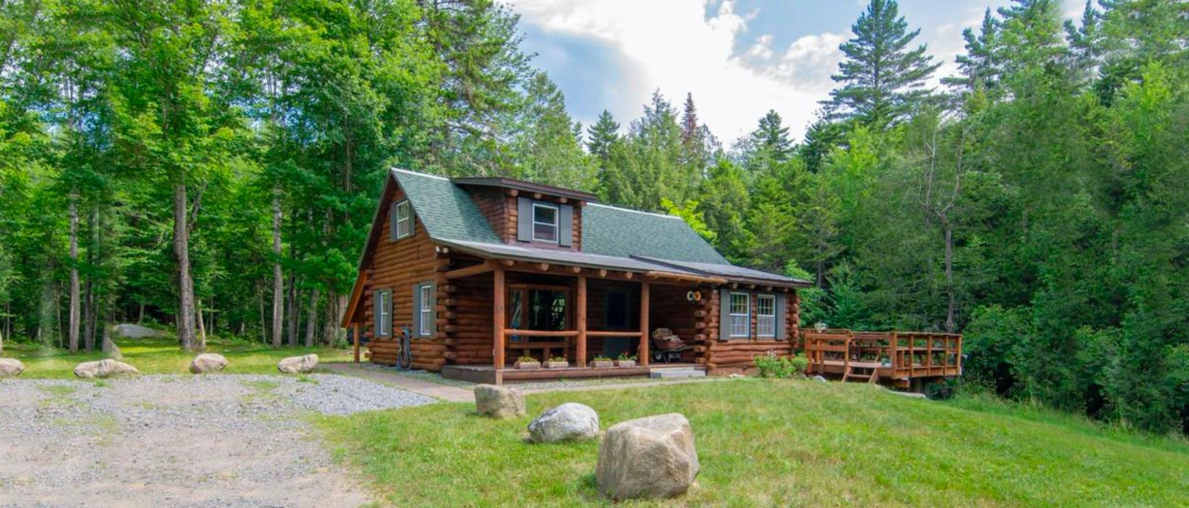 Sneak Away to This Rustic Adirondack Mountain Cabin   Huckberry