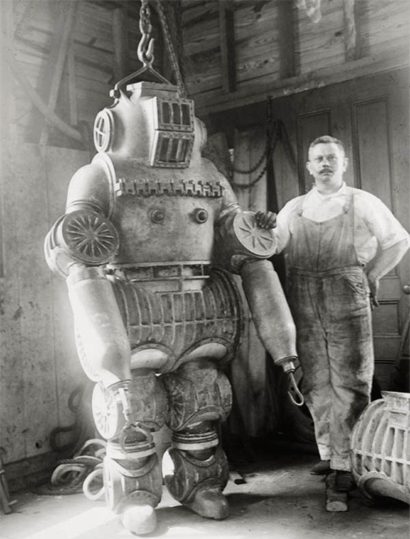 Antique Diving Suits Huckberry