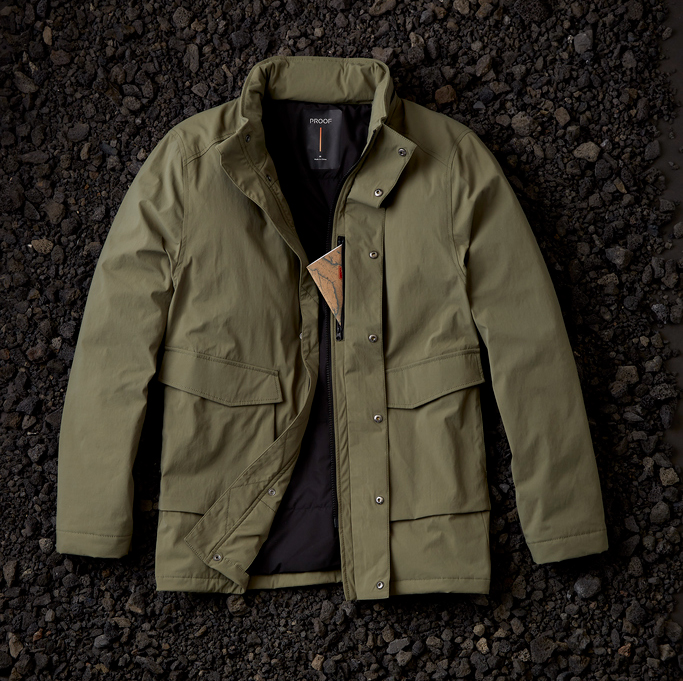 Proof Field Jacket in Olive