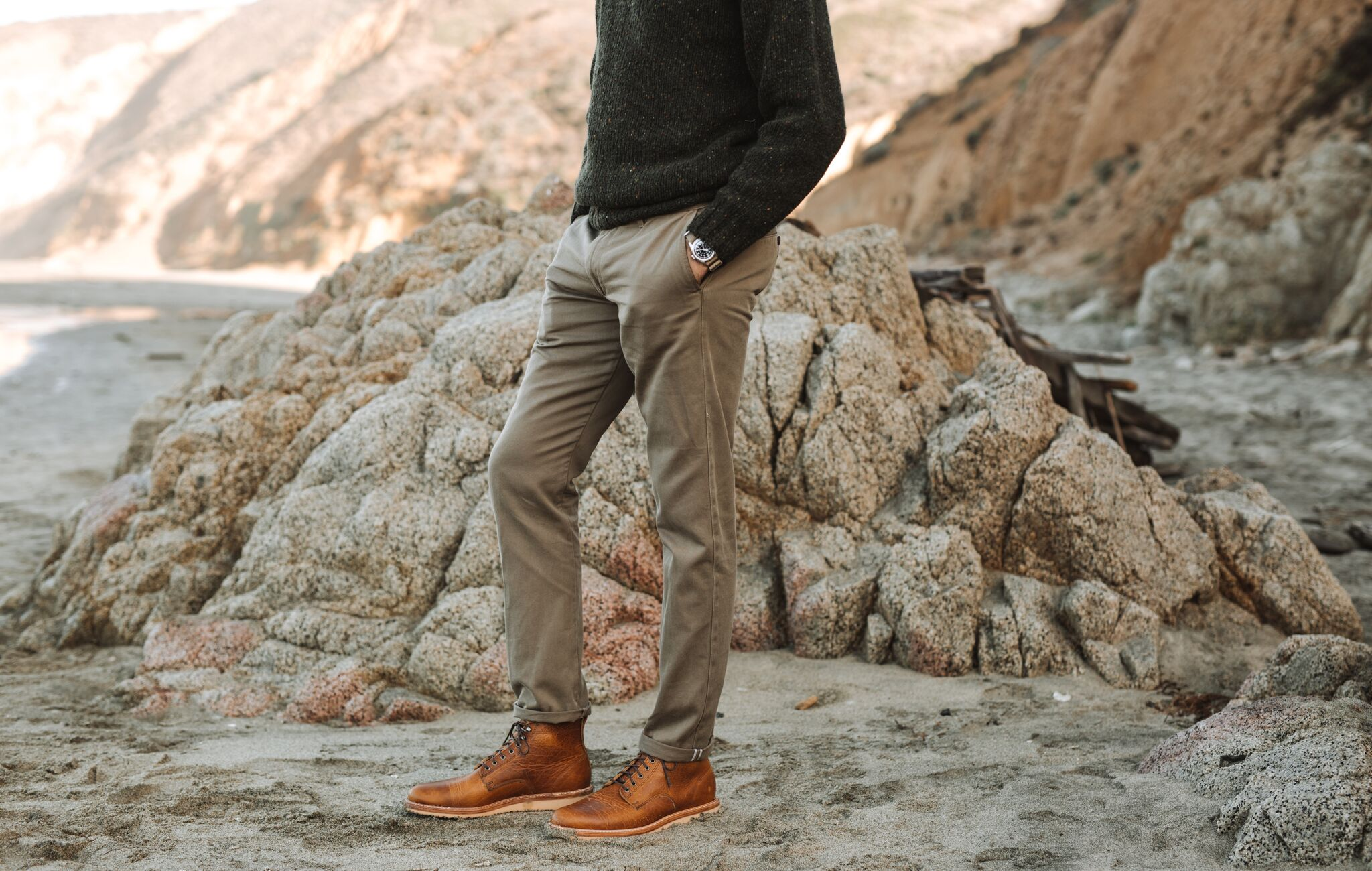 Flint and Tinder Selvage Chino