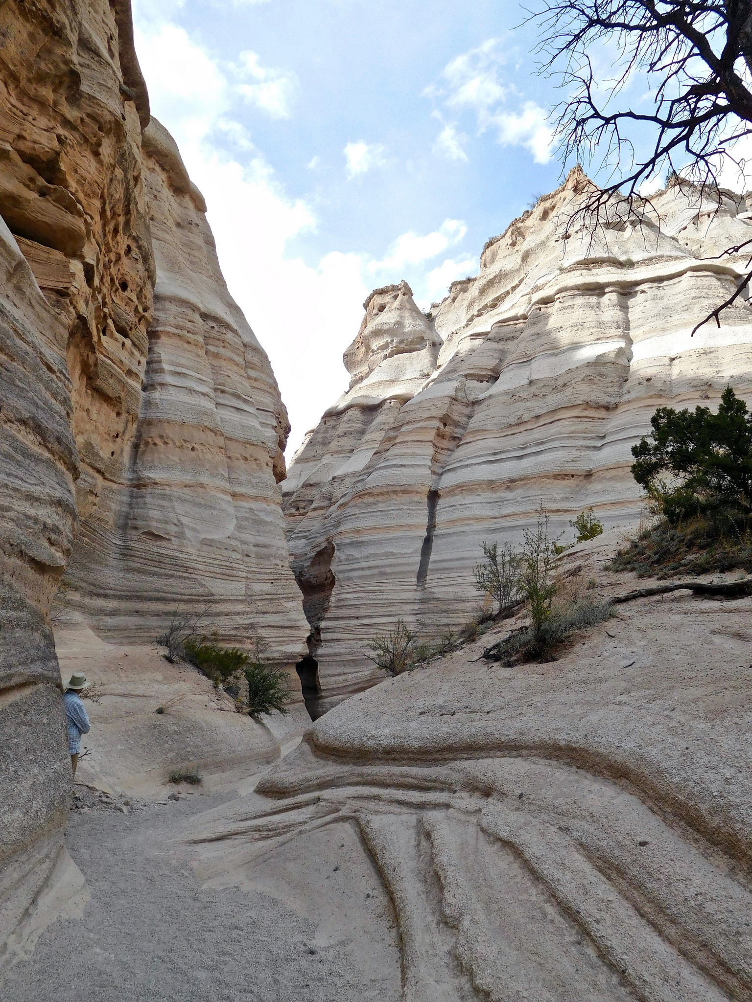 Slot Canyon Trail, Kasha Katuwe Tent Rocks National Monument