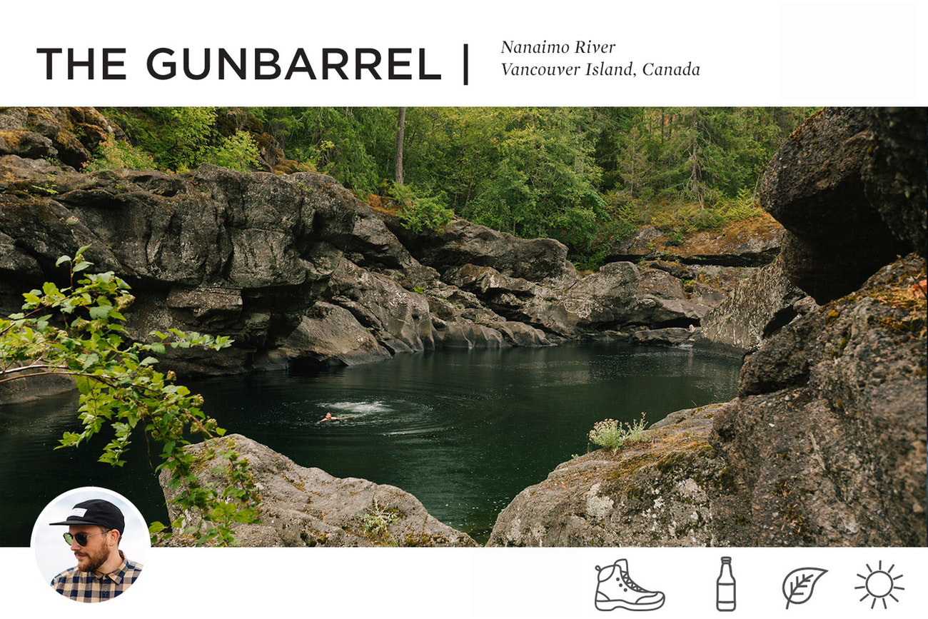The Gunbarrel Nanaimo River Vancouver Island