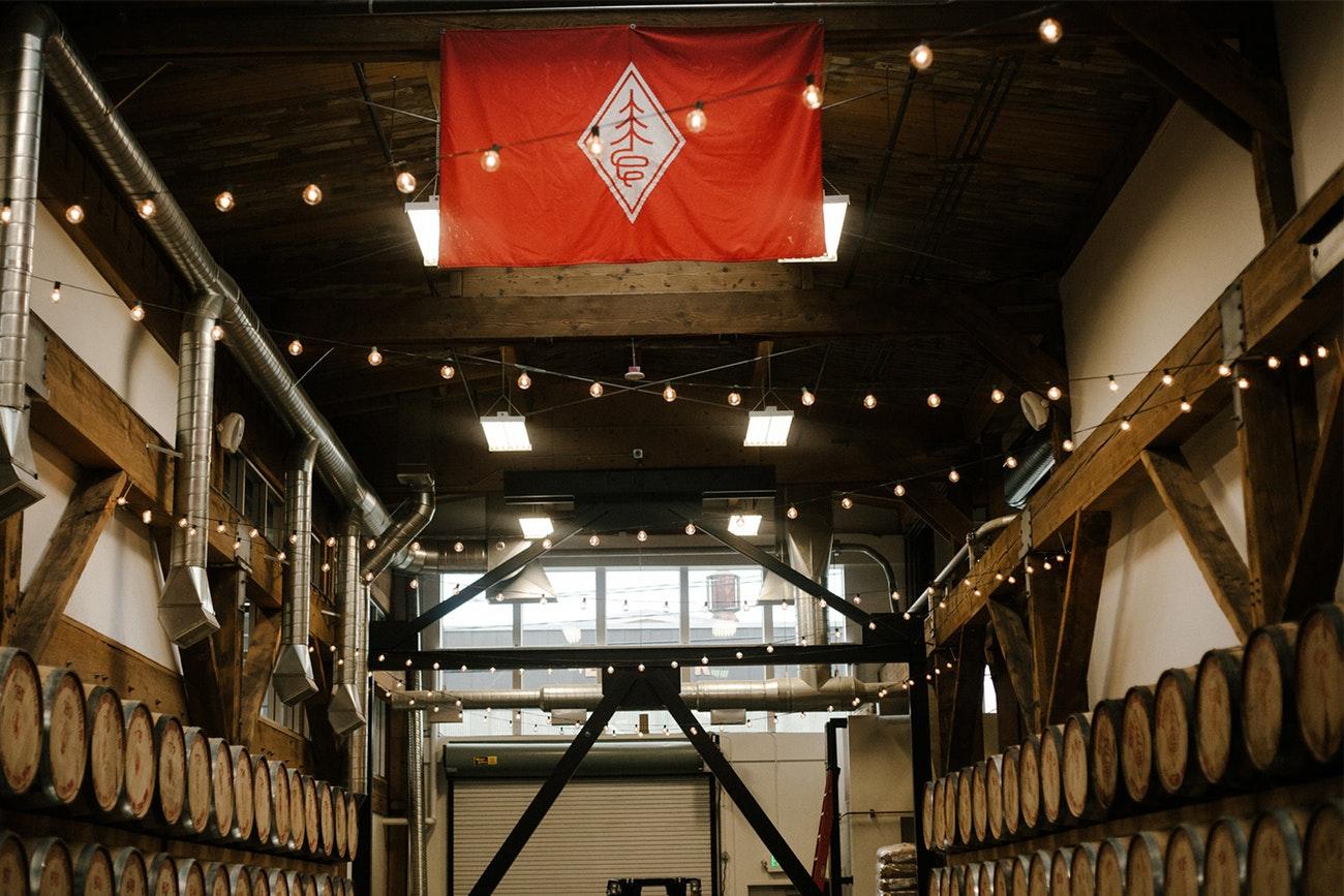 Westland Distillery in SoDo